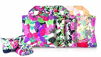 Omnisax Garden Party Pouch-Pack of 5 ,Floral,One Size