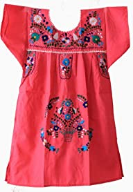 Mexican Puebla Dress Youth Girls, Pin…