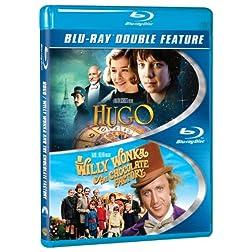 Hugo / Willy Wonka & Chocolate Factory [Blu-ray]