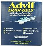 Advil Liqui-Gels Dispenser, 2 Liqui-Gels, 50-Count
