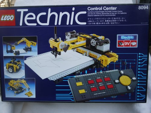 happy time with best toys collectible lego technic control center 8094 electric system 9v. Black Bedroom Furniture Sets. Home Design Ideas