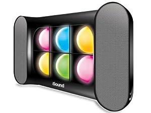 iSound iGlowSound Dancing Light Speaker (Black)
