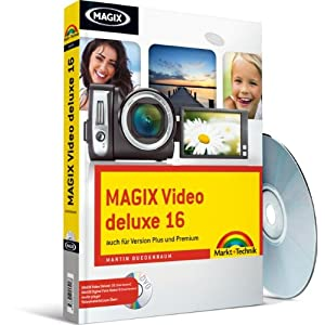 MAGIX Video deluxe 16 - Trial-Versionen auf CD: auch für Version Plus und Premium (Digital fotograf