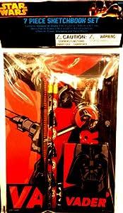 Star Wars Vader 7-piece Sketchbook Set