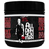 Rich Piana 5% Nutrition ALLDAYYOUMAY Growth and Full Body Recovery / Mango Pineapple 30 Servings, 17.20 oz