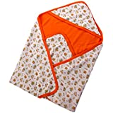 Mee Mee Baby Warm Wrapper With Hood (Orange)