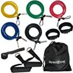 RESISTANCE BANDS Set For Yoga Abs Pil...