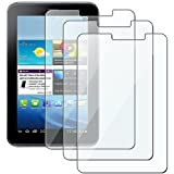 eForCity 3-Pack Reusable Screen Protector for Samsung Galaxy Tab 2 (CSAMGLXTBS14)