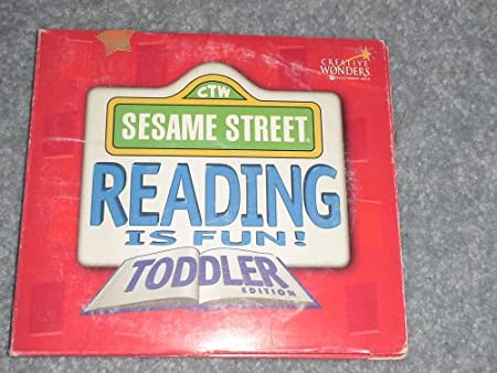 Sesame Street, Reading is Fun!, Toddler Edition (CD-ROM)