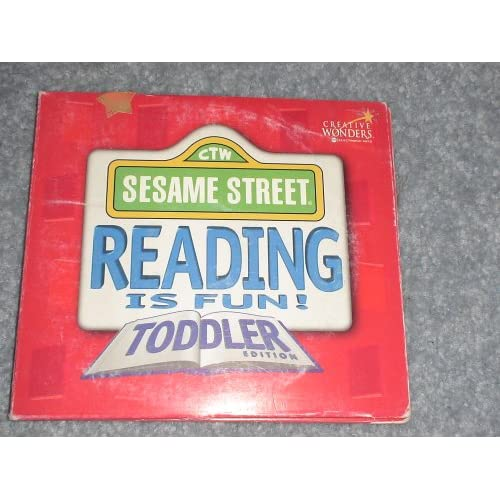 Amazon.com: Sesame Street, Reading is Fun!, Toddler