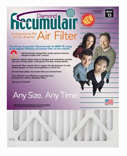Image of 24.5x27x1 (24.25x26.25x.75) MERV 13 Trane Replacement Filter (2 Pack) (B000ME89LQ)