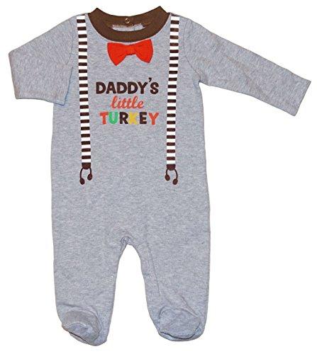 Daddy's Little Turkey Thanksgiving Baby Boys