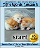 Adorable Kittens & Cats (Lesson 5) Help Your Child Learn Sight Words (Teach Your Child to Read Sight Words)