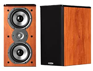 Polk Audio TSi200 Bookshelf Speakers (Pair, Cherry)