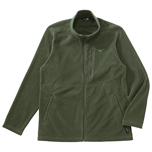 (ミズノ)Mizuno ポーラテックフリースジャケット [MEN'S] A2JC4531 42 グレープグリーン M