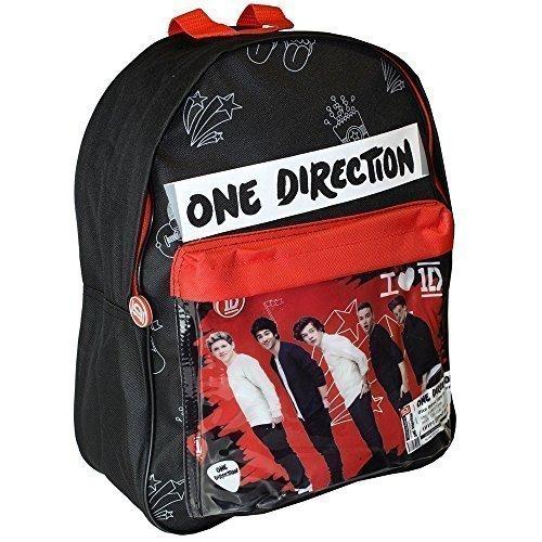 1d Large Deluxe School College Uni Backpack Shoulder Rucksack Bag By One Direction