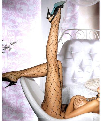 Cindio sexy Netz-Strumpfhose für die beinbewusste Dame. Größe: S-L