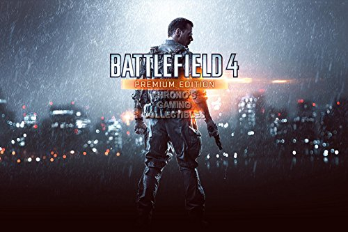 """CGC enorme-Poster Battlefield 4Premium Edition PS3PS4Xbox 360One-ext003, Carta, 24"""" x 36"""" (61cm x 91.5cm)"""