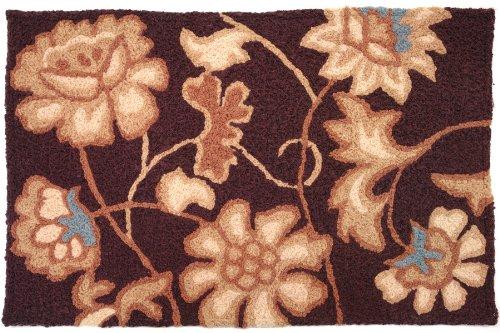 Jellybean Jacobean Floral Accent Area Rug