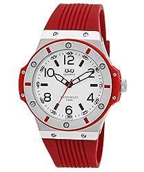 Q&Q Standard Analog White Dial Mens Watch Q566J304Y