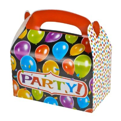Adventure Planet Party Treat Box (Bulk 12 Pack Boxes), 6.25""