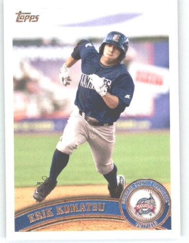 2011-topps-debut-baseball-card-139-erik-komatsu-brevard-county-manatees-in