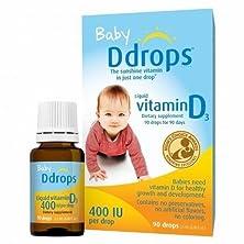 buy Ddrops Baby Liquid Vitamin D3 Supplement 400 Iu - 0.08 Fl Oz - 2 Pk