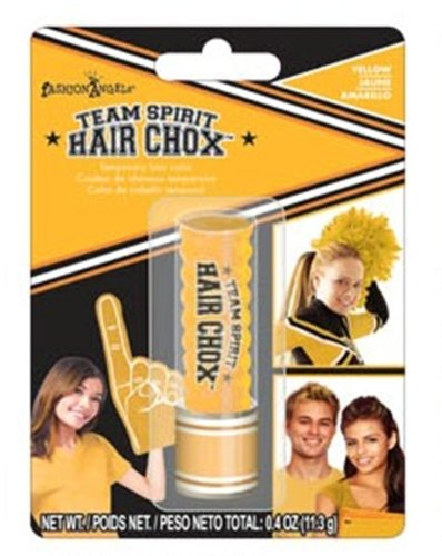 Fashion Angels Team Spirit Hair Chox-Yellow