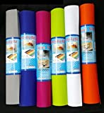 Multipurpose Textured Super Strong Anti-Slip, Anti Skid, EVA Mat- full 45cm x 150 cm Length Assorted Color