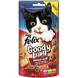 Felix Goody Bag Mixed Grill Cat Treat 60 g (Pack of 8)