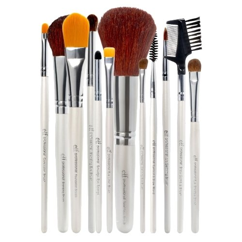 e.l.f. Essential Professional Complete Set of 12 Brushes Brush Set 12 pcs