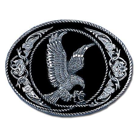 Pewter Belt Buckle - Eagle (Diamond Cut) Pewter Belt Buckle - Eagle (Diamond Cut)
