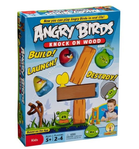 Buy Low Price Mattel Angry Birds: Knock On Wood Game Figure (B004U52VPS)