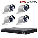 Hikvision DS-7608NI-E2/8P + Hikvision DS-2CD2042WD-I 4MP IP Camera + Seagate 2TB HDD (8 Channel + 4 Camera)