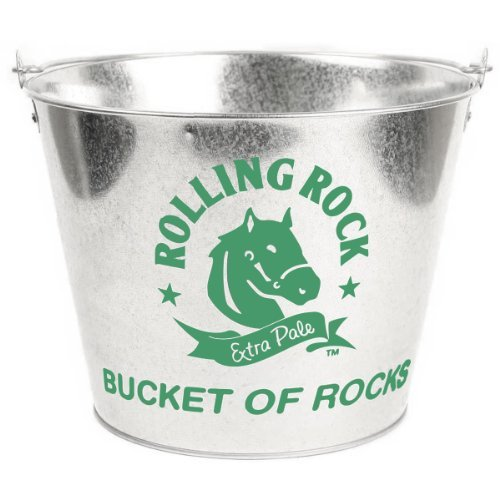 rolling-rock-metal-ice-bucket-new
