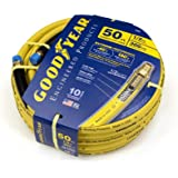 Goodyear EP 46565 1/2-Inch by 50-Feet 300 PSI Rubber Air Hose with 1/2-Inch MNPT Ends and Bend Restrictors