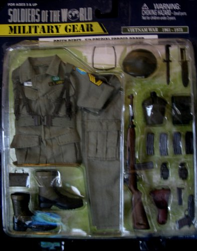 Buy Low Price Formative International Soldiers of The World Military Gear – Green Beret – 5″ Special Forces Group Figure (B002YLJQZ8)