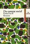 Du contrat social : Livres I et II