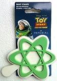 Disneys Pixar TOY STORY BUZZ LIGHTYEAR Foam Paint Stamp STAR & SPACE Wall Decoration (3 1/2 Wide)