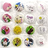 Capsule Arakawa under the bridge can badge all 16 pieces