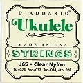 D'Addario ダダリオ ウクレレ弦 J65 Soprano Ukulele 【国内正規品】