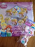 Disney Princess Party Supplies Set - Cupcake/Snack Stand + 18 Disney Princess Cupcake Liners W/Bonus Picks! Featuring Cinderella, Ariel & Rapunzel!