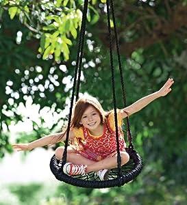Round-and-Round Nylon Rope Outdoor Swing