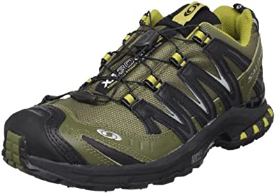 Salomon Men's XA Pro 3D Ultra 2 GTX Trail Running Shoe,Olive/Black/Moss,7 M US