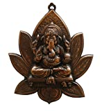 JaipurCrafts Matel Wall Hanging Of Lord Ganesha On Lotus - B00Y3IDR5K