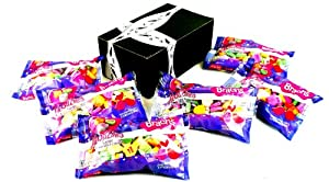 Brach's Heartlines Large Conversation Hearts, 8 oz Bags in a BlackTie Box (Pack of 6)