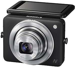 """Canon PowerShot N Appareil photo numérique compact 12,1 Mpix Écran LCD 2,8"""" Zoom optique 8X Noir"""
