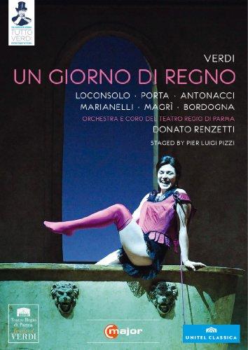 Verdi: Un Giorno Di Regno (Pizzi 2010) (Loconsolo/ Porta/ Antonacci/ Orchestra e Coro del Teatro Regio di Parma/ Donato Renzetti/ Luigi Pizzi) (C Major: 720208) [DVD] [NTSC]