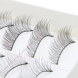 AGPtek® 40 Pairs Makeup Handmade Natural Fashion Long False Eyelashes Eye Lashes(Environmentally friendly materials)