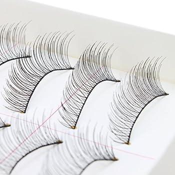 AGPtEK® Handmade Natural Fashion Long False Eyelashes For ...